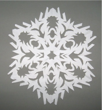 Just Like Real Snowflakes No Two Are Ever Quite The Same Here Is A Tutorial For Making 6 Pointed Snowflake Which Looks More Natural Because That How
